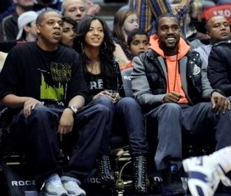 Jay-Z, Beyoncé et Kanye West