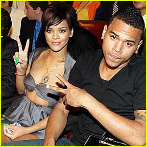 Chris Brown et Rihanna à l'époque où ils étaient en couple