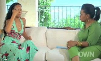 Rihanna interview�e par Oprah Winfrey