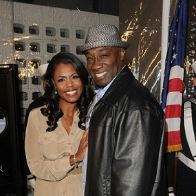 Michael Clarke Duncan et sa fianc�e Omarosa