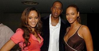Rihanna, Jay Z et Beyonce