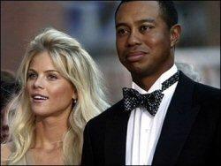 Tiger Woods et sa femme