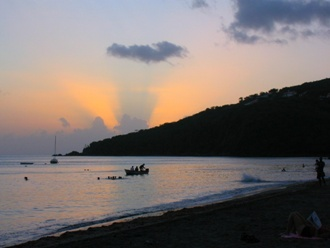 Une vue de la Guadeloupe