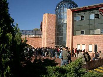 Une vue du campus de l'Esc Pau