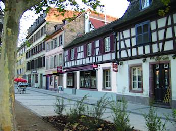 Création de vitrine pour le restaurant WOK Thaï La Krutenau (Strasbourg-67)