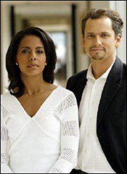 Audrey Pulvar et Franck Laforge