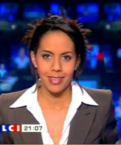 Audrey Pulvar à LCI