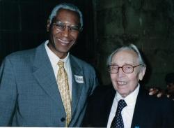 Paul Valère  et le professeur Bouvrain