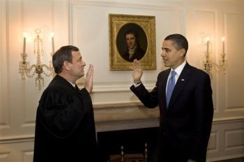 Barack Obama a prêté à nouveau serment le mercredi 21 janvier