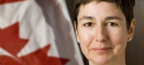 Sigrid Anna Johnson, ambassadrice du Canada en RDC
